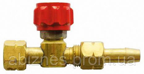 Вентиль горючего газа (ГГ) М14х1,5LH Ф6 мм