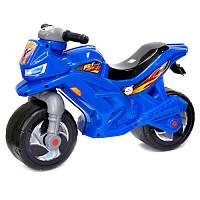 Мотоцикл-толокар двухколесный 501 Орион, синий