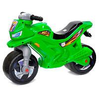 Мотоцикл-толокар двухколесный 501 Орион, зеленый