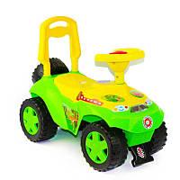 Машинка-каталка Ориоша 198 Орион, зеленый