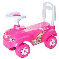 Машинка каталка-толокар «Микрокар» 157 Орион, розовый