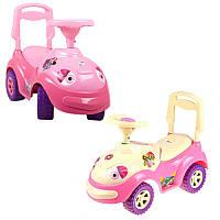 Машинка каталка-толокар «Луноходик» 174 Орион, розовая