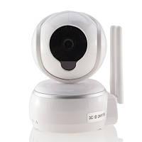IP камера поворотная купол 3C 3310-8281B1MPx 1/4 f=3.6 mm Wi-Fi 2ант SD LAN звук, фото 1