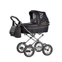 Детская коляска Roan Rialto  carbon/черн