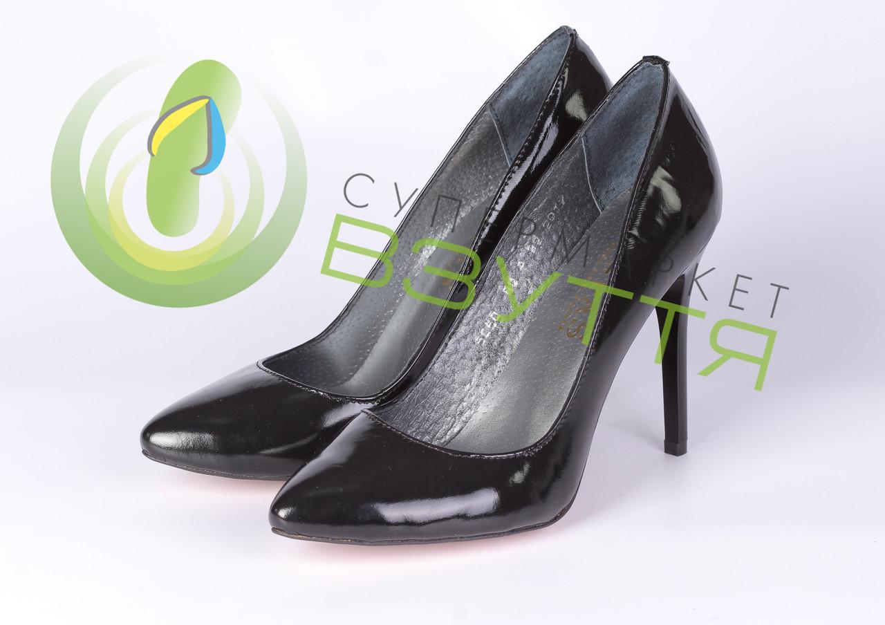Туфли -лодочки Topas .Арт 5050 чер 38,39 размер