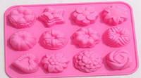 Vincent Форма для выпечки печенья прямоугольн. на 12шт.21,5x16,0x2,5см VC-1472