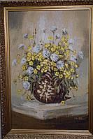 """Картина гобелен """"Польові квіти"""" Італія"""