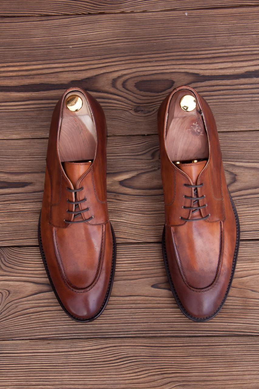 Мужские итальянские туфли Rhomson , 30 см, 45 размер. Код: 418/1.