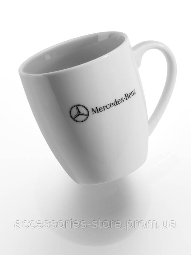Фарфоровая кружка Mercedes-Benz Porcelain Mug White 2013