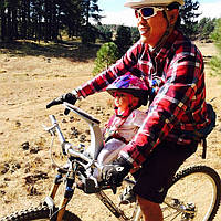 Велокресло WeeRide Classic переднее крепление