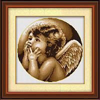 Вышивка камнями Lasko Размышления о вечном (TL027) 39 х 38,5 см, фото 1