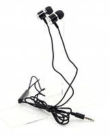 Гарнитура ProLogix ME-A500 Black; разъем jack4 pin, длина провода 1,2м