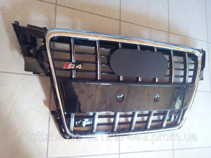 Решетка радиатора на Audi A4 (2008-2011) в стиле S4