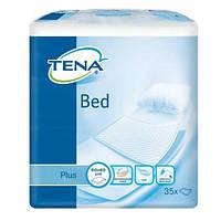 Пеленки для взрослых впитывающие Tena Bed Plus 60*60 35 шт.