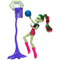 Кукла Венера Макфлайтрап Каскетбол (Monster High Casketball Champ Venus Mcflytrap Doll Giftset)