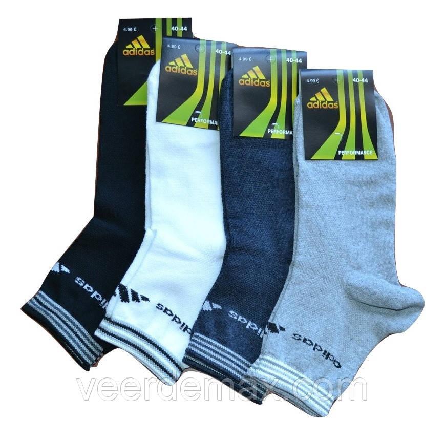 Носки мужские спортивные  Adidas (сетка) размер 41-44 (разные цвета) - Veer Demax в Одессе