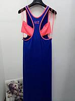 Платье EA7 длинное 3YTA56