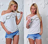 Женская красивая футболка-хулиганка, фото 1