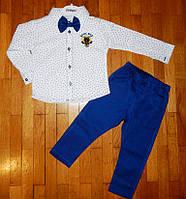 Нарядный костюм для мальчика Джентельмен бабочка 3 года