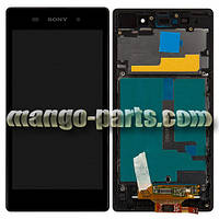 LCD Дисплей+сенсор  Sony  Xperia  Z1 C6902 L39h/C6903/C6906/C6943 c рамкой
