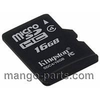 Карта памяти Kingston/Sandisk micro SDHC 16GB