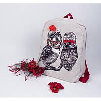 Набор для изготовления сумки с вышивкой 8521. СОВУШКИ ПОДРУЖКИ
