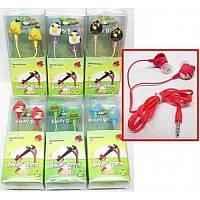 Наушники Angry Birds детские 12 штук