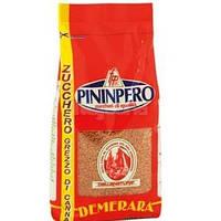 Коричневый (неочищенный) сахар тростниковый россыпной Zucchera Pininpero, 500 гр.