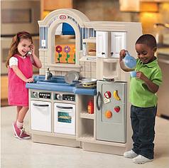 Детская кухня Little Tikes двухсторонняя с грилем (450B)