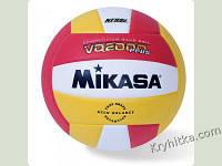 Мяч волейбольный (шитый, трёхцветный,MIKASA, MOLTEN, RONEX)