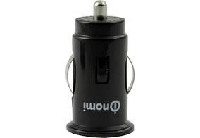 Автомобильное зарядное устройство Nomi CC05210 2.1A Black (135735)