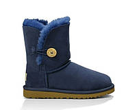 Детские угги UGG Australia (baby) Bailey button grey