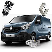 Автобаферы ТТС для Renault Grand Trafic (2 штуки)