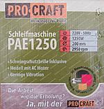 Точило електричне PROCRAFT PAE1250, фото 7