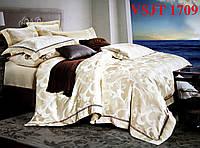 Постельное белье сатин жаккард Tiare Вилюта. VSJT 1709