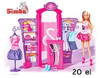 Игровой набор Модный Бутик Evi Simba 5732852