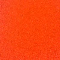 Фоамиран махровый 2 мм, 20x30 см, Китай, ЯРКО-ОРАНЖЕВЫЙ