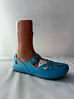 Туфли женские кожаные летние CAMIDY