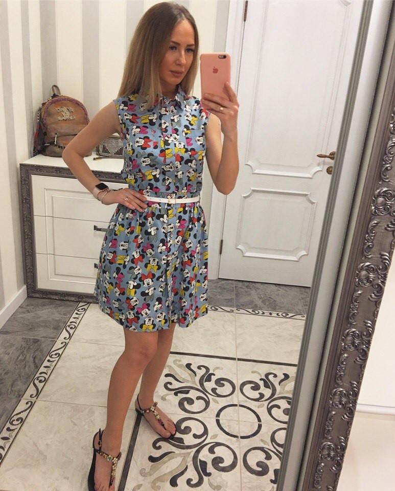 Новая модель! Джинсовое летнее платье