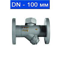 """Конденсатоотводчик термодинамический фланцевый, Ду 100 (4"""")/ 1,6 МПа/ 300 °С/ литая сталь WCB/ (Fig. D111-100)"""