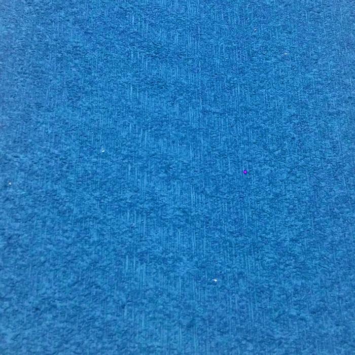 Фоамиран махровый 2 мм, 20x30 см, Китай, СИНЕ-ГОЛУБОЙ