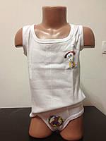 Детский комплект белья майка и трусы для мальчиков оптом р.3-7лет, фото 1