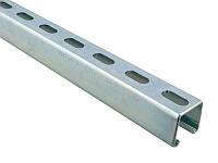 Профиль монтажный перфорированный Walraven 41х41х2 мм по 2/3/6 м