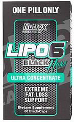 Жиросжигатель Lipo-6 Black Hers Ultra Concentrate (60 капс.) Nutrex