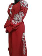 """Жіноче вишите плаття """"Памелі"""" (Женское вышитое платье """"Памели"""") PU-0012"""