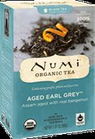 """Органический чёрный чай """"Старый Граф Грей"""" с бергамотом Numi"""