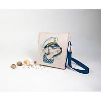 Набор для изготовления сумки с вышивкой 8531. МОРЯК