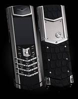 Vertu Signature S Design Silver ALLIGATOR. Доставка 9 дней