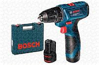 Аккумуляторная дрель - шуруповерт  Bosch GSR 120-LI