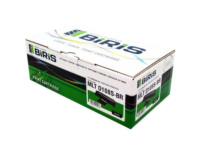 Картридж Biris SAMSUNG ML-1640/1641/2240/2241 без чипа (1500 страниц) - Эдельвейс и К в Виннице